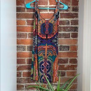 Angie M tribal print sundress